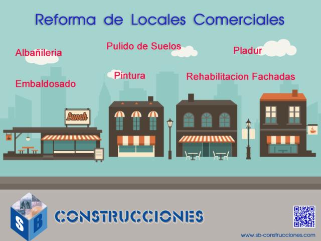 Reforma de Locales Comerciales y Oficinas Mallorca